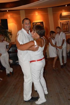 Couple de danseurs sur Nîmes