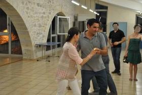 Couple de danseurs sur Caveirac